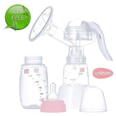 - USED - Manual Breast Pump with Soft Silicone Massaging Breast Shield