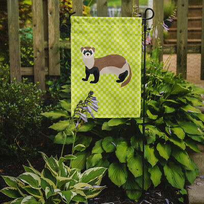 Carolines Treasures  BB7704GF Ferret Green Flag Garden Size