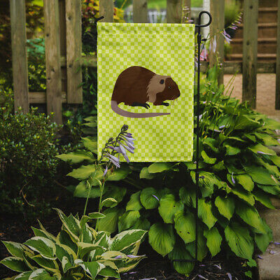 Carolines Treasures  BB7705GF Coypu Nutria River Rat Green Flag Garden Size