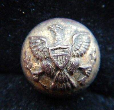 Dug In Mexico Us Military Button Indian Wars Period