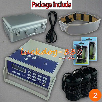 LCD Ion Ionic Detoxification Detox Foot Bath Spa Ion Cell Cleanse Machine w 3A
