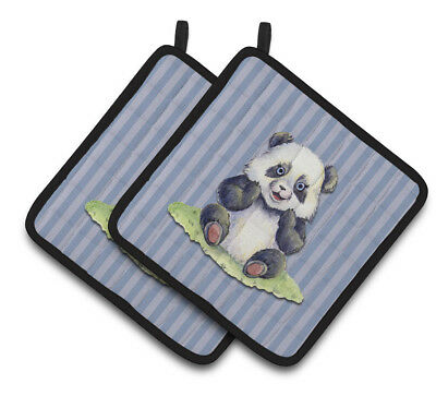 Carolines Treasures  BB7142PTHD Panda Bear Pair of Pot Holders