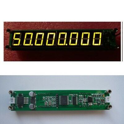 0.1MHz~2400MHz 8LED RF Singal Frequency Counter Tester Meter Ham Radio YELLOW