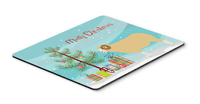 Horned Dorset Sheep Christmas Mouse Pad, Hot Pad or Trivet