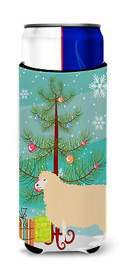 English Leicester Longwool Sheep Christmas Michelob Ultra Hugger for slim cans