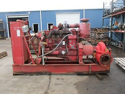 Aurora Centrifugal Fire Pump & Motor Type 8-481-179 #817807G Used