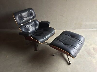 Eames Lounge chair (1956) 670 + ottoman 671 (original Vitra) in good condition!
