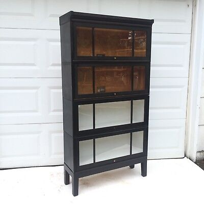 Antique Barrister Bookcase By Viking