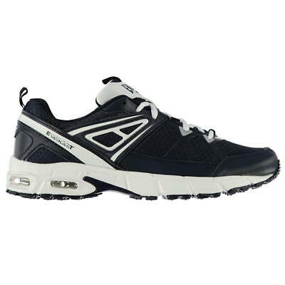 Buy1Get1HaifPrice Men LEATHER Shock Run Walk Fitness Casual Trainers Shoe Size