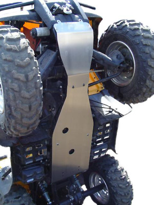 15-4423 2 PCS Chassis Skid Plate - YAMAHA GRIZZLY 660 2002 - 2008