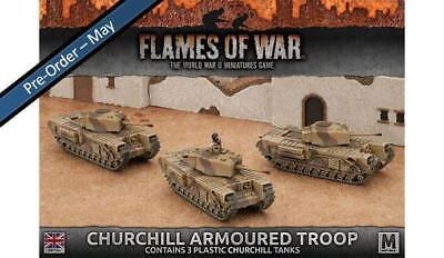 Flames of War: Churchill Armoured Troop