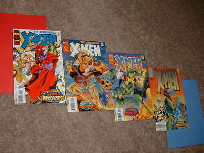 1995 Marvel Lot Astonishing X-Men 1 2 3 4 Age of Apocalypse VFNM Free Shipping