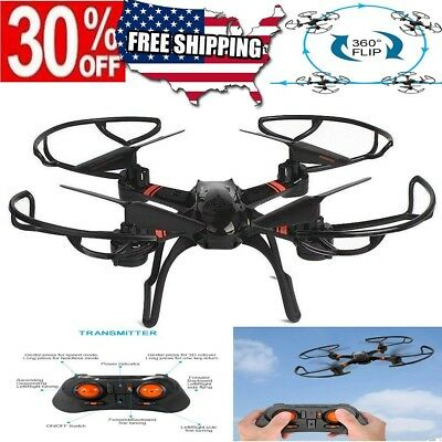 2.4G 4CH 6-Axis RC Quadcopter Drone Brushless Motor RTF Aircraft HD Wifi Camera