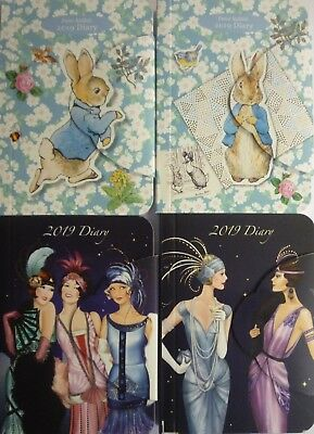 Peter Rabbit or Art Deco A7 Pocket 2019 Mini Magnetic Week 2 to View Diary