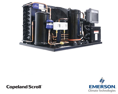 Emerson Copeland Condensing Unit Izsi08Ae R404 2.5Hp 2.35Kw@-25Sst 240V Low Temp