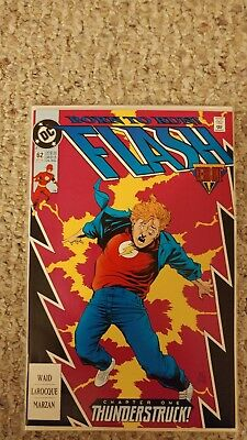 Flash #62. NM+. 9.6. Wally West as the Flash. Year One Part 1.