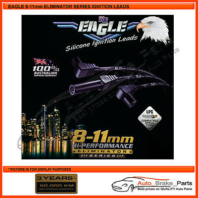Black Eagle Eliminator 9mm Leads for Holden Rodeo TFS17 4 x 4 2.6L - E94210