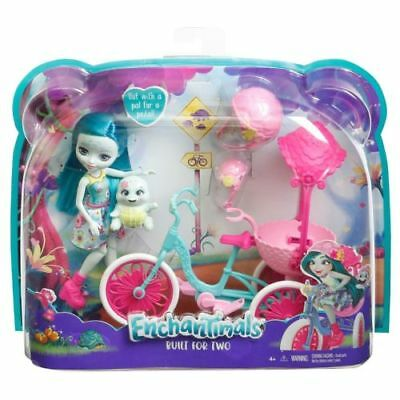 New Enchantimals Built For Two Doll Set Toy Playset
