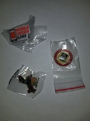 McDonald's Assorted McDonalds Pin / Pins (3)