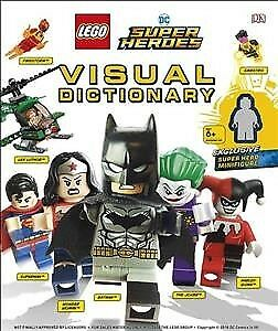 Lego Dc Super Heroes Visual Dictionary : With Exclusive Yellow Lantern Batman...