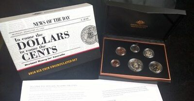 2016 Mint Set - *in Come The Cents* - Mint Coin Set -*royal Australia Mint*