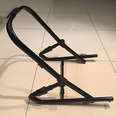 SECOND BOTTOM SEAT FRAME for Steelcraft Strider Plus Stroller : NO FABRIC / PRAM