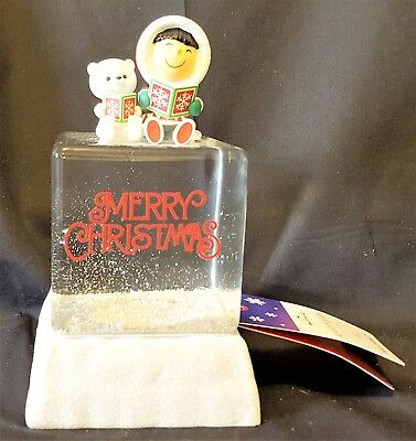 Hallmark 2016 Frosty Friends Snow Water Globe ~ New w/ Tags