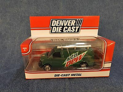 Mountain Dew Die-Cast Van - New In Box - Denver Die Cast - 2016