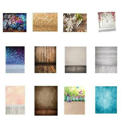 Multi Theme Cloth Wood Floral Backdrop Photography Studio Props Photo Background