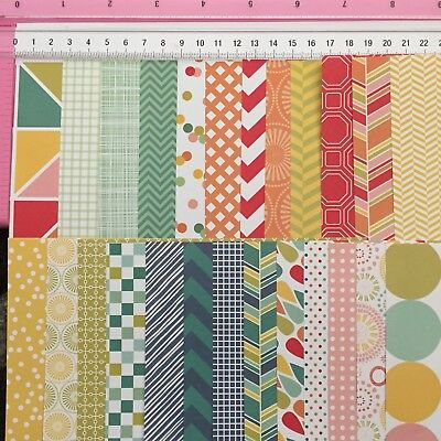 Colorbok 'Carnival' Designer Papers - 6inch x 6inch 25 Pages 25 Designs