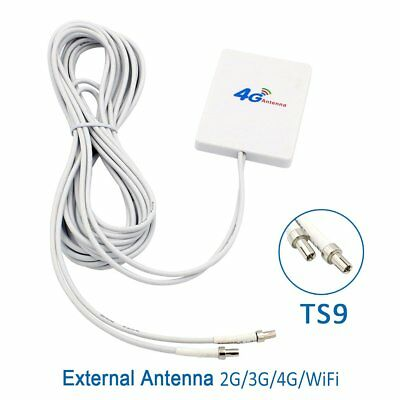 28dBi 4G LTE Booster Ampllifier MIMO WiFi Antenna Support ALL TS-9 Type device