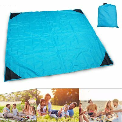 Anti Sand Beach Towel Waterproof Mat Polyester Camping Picnic Sitting Blankets