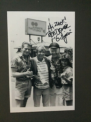 Bob Denver Hand Signed Small Photograph Autograph Authentic Original