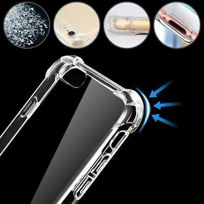 Hybrid Shockproof Clear TPU Hard Bumper Cover For iPhone Case DH