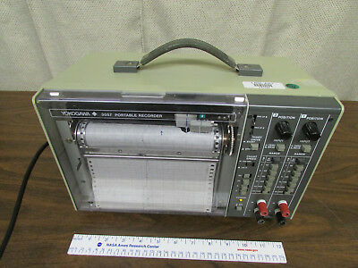 Yokogawa 3057 Portable Chart Recorder Model 305721 Working