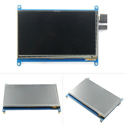 7 Inch LCD Display 1024*600 HDMI Monitor Capacitive Screen Module For Raspberry