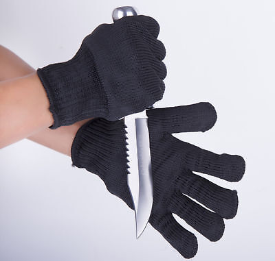 1Pair  Personal Protection Cut-resistant Tactical Gloves Security Self Defense