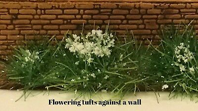 Static Grass flowering grass tufts Self-Adhesive 3mm high