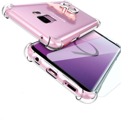 For Samsung Galaxy S9 S8 Plus Note 9 Case Shockproof Silicone Clear Bumper Cover