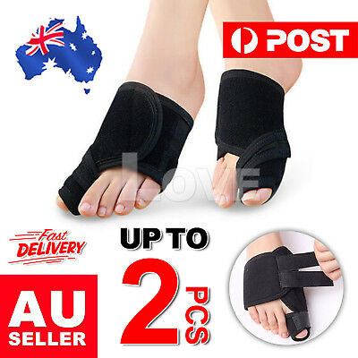 2PCS Hallux Valgus Relief Foot Pain Big Toe Bunion Splint Straightener Corrector