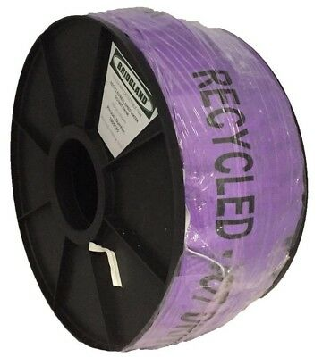 Bridgland DETECTABLE TAPE 100mmx250m Recycled - Reclaimed Water Do Not Drink