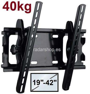 "Montaje en pared de soporte TV LCD LED para 19 22 26 27 30 32 37 40 42"" pulgadas"