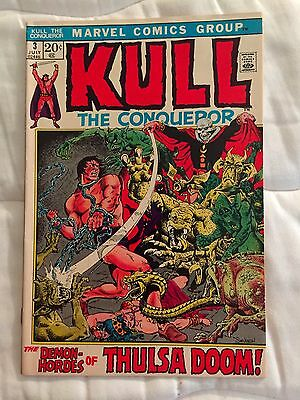 Kull The Conqueror #3  Thulsa Doom Severin  1972
