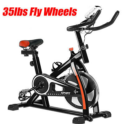 35lbs Exercise Stationary Bike/Bicycle Cardio Workout Home Indoor Fitness Gym MA