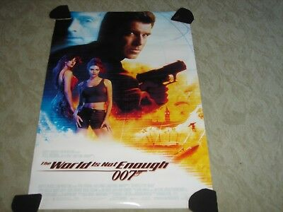 The World is not Enough 007 Original Rolled Movie Poster - 1999