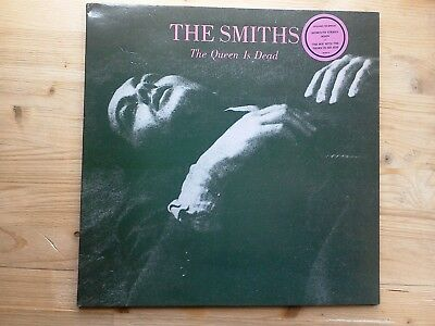 The Smiths The Queen Is Dead 1st Press VG Vinyl LP Record ROUGH 96 Hype Sticker