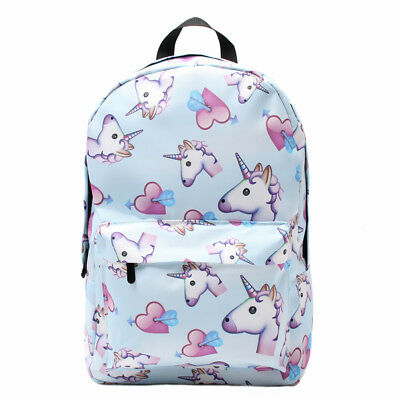 Waterproof Unicorn Backpack School Travel Shoulder Bag for Teenage Girls Gift