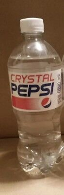 THREE (3) Crystal Pepsi 2018