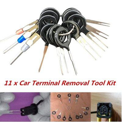 11*Terminal Removal Tool Car Electrical Wiring Crimp Connector Pin Extractor KFE