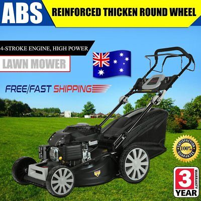 "NEW 62L Grass bag Lawn Mower 20"" Cordless Lawnmower Lithium Battery Electric QF5"